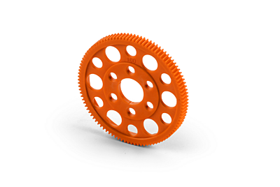 XRAY Offset Spur Gear 100T / 64 - Orange