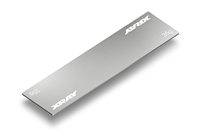 XRAY Stainless Steel Weight For Slim Battery Pack 35g