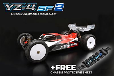 Yokomo YZ-4SF2 4wd Offroad Car Kit + GIFT