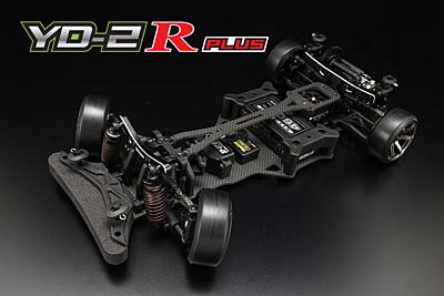 Yokomo YD-2R Plus RWD Drift Car Kit (Graphite Chassis)