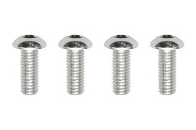 Yokomo Aluminum BH Socket Screw M3×8mm (4pcs)