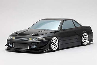 Yokomo Body Set for DRIFT X TREME PS13 SILVIA (Graphic decal less)