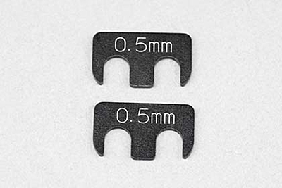 """YD-2/YD-4 Spacer 0.5mm for Adjustable Rear """"H"""" Arm (2pcs)"""